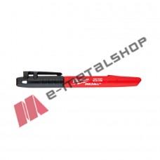 Μαρκαδόρος λεπτής μύτης 1mm Milwaukee 48223100 (μαύρος)