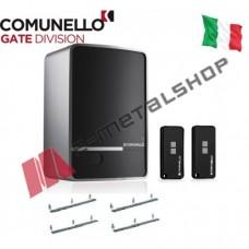 Μοτέρ συρόμενης γκαραζόπορτας έως 400kgr Comunello Fort 400 (Με πλακέτα, 2κοντρόλ, 4m κρεμαγιέρα)