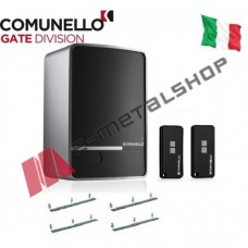 Μοτέρ συρόμενης γκαραζόπορτας έως 500kgr Comunello Fort 500 (Με πλακέτα, 2κοντρόλ, 4m κρεμαγιέρα)