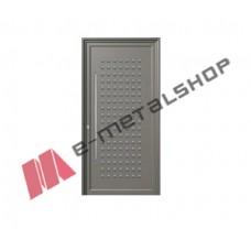 Πόρτα Εισόδου με Τυφλό Panel (πλάτος έως 105cm) (ύψος έως 227cm) (Χρώμα Λευκό RAL 9016)