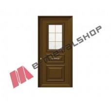Πόρτα Εισόδου 5331G/W/INOX (πλάτος έως 105cm) (ύψος έως 227cm)