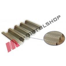 Σύμμικτη λαμαρίνα 0.75mm πάχος ελάσματος ST320 (τιμή τρέχοντος μέτρου)