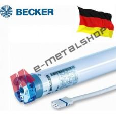 Σωληνωτό μοτέρ για ρολά έως 36kgr BECKER R20/17CM για οκτάγωνο άξονα  Φ60 ( Ροπή 20 Nm)