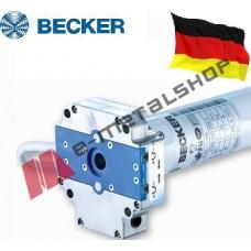 Μοτέρ σωληνωτό με μανιβέλα για ρολά, τέντες, γκαραζόπορτες έως 72kgr BECKER R40/17HK  για άξονα Φ60 ( Ροπή 40 Nm)