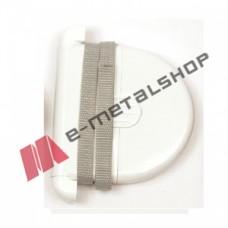 Ταμπακιέρα μηχανισμός ιμάντα 6m για ρολά (λευκή)