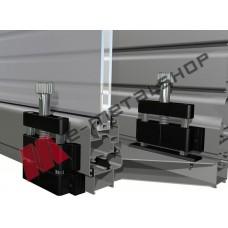 Σύστημα θωράκισης για μπαλκονόπορτες Alfa Lock 300