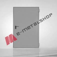 Πυράντοχη εσωτερική πόρτα 60 λεπτών Interno by Alumil σε χρώμα γκρί (RAL 7035)