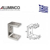 Εξωτερικό στήριγμα κολώνας F50-108 Aluminco 4142