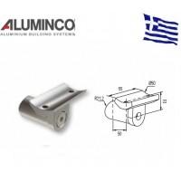 Στήριγμα κουπαστής Inox F50-200 και κολόνας F50-100 Aluminco 4169B