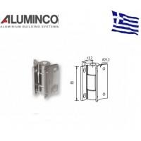 Μεντεσές κολόνας F50-100 Aluminco 4177