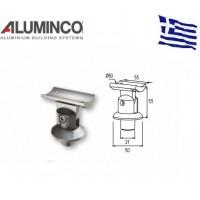 Στήριγμα κουπαστής Inox F50-200 και κολόνας F50-101 Aluminco 4179