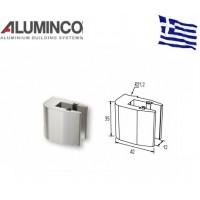 Στήριγμα τζαμιού 8-10mm για κολώνα F50-103 Aluminco 4191