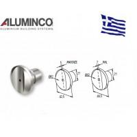 Σύνδεσμος κολόνας F50-100 κάθετη ένωση Aluminco 4224
