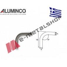 Σύνδεσμος 90 μοιρών για προφίλ Φ16 Aluminco 4228