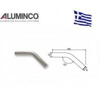Σύνδεσμος 135 μοιρών για προφίλ Φ16 Aluminco 4229