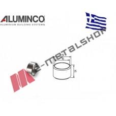 Σύνδεσμος ευθεία για προφίλ Φ16 Aluminco 4230