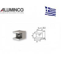 Σύνδεσμος Κολόνας F50-100 Με προφίλ F50-302 Aluminco 4232