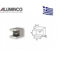 Σύνδεσμος κολόνας F50 102/106 Με προφίλ F50-302 Aluminco 4245