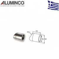 Σύνδεσμος κολόνας F50-100 με προφίλ Φ26 Aluminco 4252