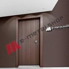 Πόρτα ασφαλείας laminate της Golden Door