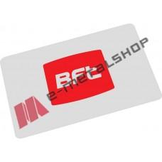 Μαγνητική κάρτα σύμφωνα με τα ISO Standards, ιδανική για χρήση σε πάρκινγκ BFT Compass Isocard