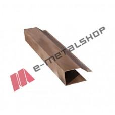 Ειδική πλαϊνή μετώπη για πάνελ οροφής κεραμίδι (τιμή μέτρου) ARK