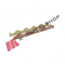 Χτένια πάνελ οροφής κεραμιδιού (τιμή μέτρου) 2112L LEB