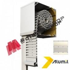 Ρολό αλουμινίου βαρέως τύπου μεγάλης διάτρησης  303024 Alumil Smartia 13700 120x220