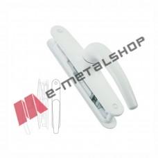 Σπανιολέτα συρόμενου αλουμινίου 180 μοίρων PL020 λευκή  PowerLock