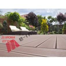 Δάπεδο τύπου Deck Alumil Woodee (140x23x4000mm η τιμή αφορά το τρέχον μέτρο)