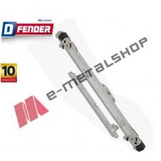 Καρέ D-FENDER 2 Κλειδωμάτων για λαβή καρέ ALUMIL 9050 (M9062/M9065) 74311 Domus