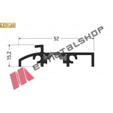 Κατωκάσι M19862 σειράς Μ9660 Smartia Alumil 2m