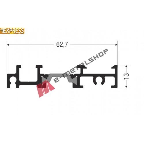 Κατωκάσι S67684 σειράς S67 Smartia Alumil 3m