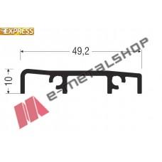Κατωκάσι M11172 σειράς M11000 Smartia Alumil 6m