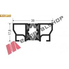 Πρόσθετο αλουμινίου S30536 σειράς S560 Smartia Alumil