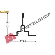 Πρόσθετο αλουμινίου S30559 σειράς S560 Smartia Alumil
