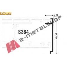Άγκιστρο S362 (για προφίλ 384) σειράς S350 Smartia Alumil 6m
