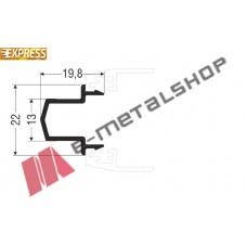 Μπινί M9004 σειράς Μ9200 Comfort Alumil 6m