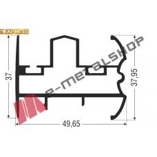 Μπινί M9244 σειράς Μ9200 Comfort Alumil 6m