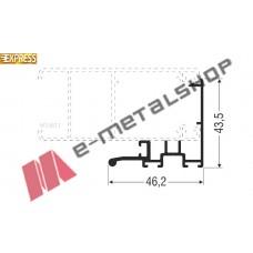 Γάντζος M14615 σειράς Μ14600 Smartia Alumil 4.7m