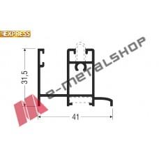 Κάσα M14620 σειράς Μ14600 Smartia Alumil 6m