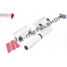 Μεντεσές αλουμινίου CE MTT-10 MAKEDONIKI λευκός