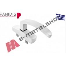 Σπανιολέτα ανοιγόμενου XS-700 MAKEDONIKI λευκή