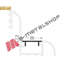 Πρόσθετο M9010 σειράς Μ9200 Comfort Alumil 6m