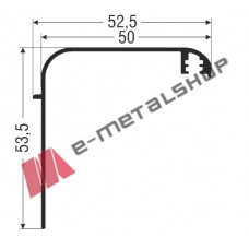 Αρμοκάλυπτρο M9419 Comfort Alumil 6m