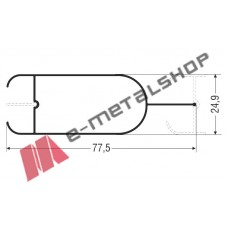 Πρόσθετο M9538 Alumil 6m