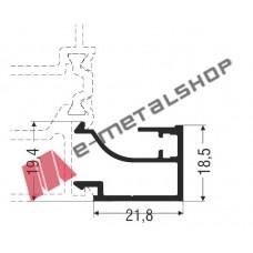 Πηχάκι ίσιο M11451 Smartia Alumil 6m