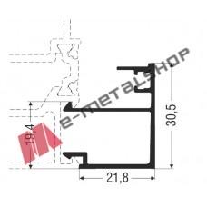 Πηχάκι ίσιο M11454 Smartia Alumil 6m