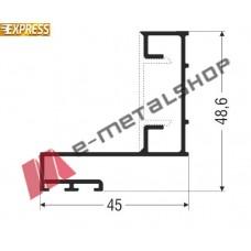 Αρμοκάλυπτρο M14644 Smartia Alumil 4.7