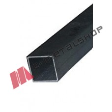 Μπόι 38x38x1.40mm Μαύρο 1m